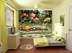 Walltastic Waybuloo Childrens Designer Wallpaper