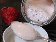 Iogurte de Morango e Kiwi