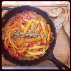 Peperonata / Hoge Hakken in de keuken