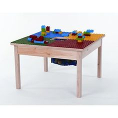 I want to build one of these for the boys' room.  Looks simple.