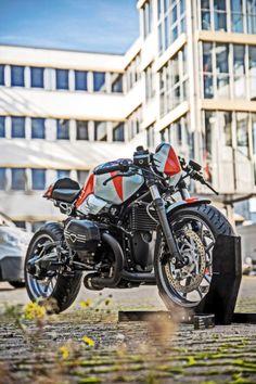 "BMW Cafe Racer R nineT ""Bridgestone"" by Diamond Atelier Street Motorcycles, Street Bikes, Custom Motorcycles, Custom Bikes, Cars And Motorcycles, Cafe Racer Bikes, Cafe Racers, Hardtail Mountain Bike, Nine T"