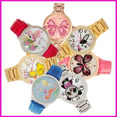 betsey johnson watches :)