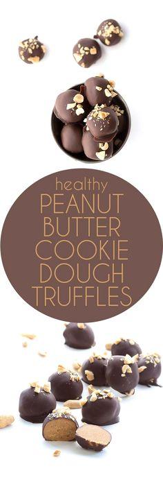 Healthy Low Carb Peanut Butter Cookie Dough Truffles #keto #banting #ketorecipe #sugarfree #peanutbutter via @dreamaboutfood