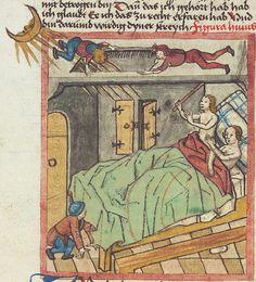 Antonius <von Pforr> Buch der Beispiele — Schwaben, um 1480/1490 Cod. Pal. germ. 85 Folio 11v