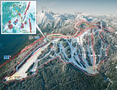 Grouse Mountain ski map http://vancouversnorthshore.com/what-to-do-outdoors/mountains/
