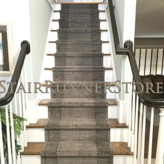 Grand Textures stairrunner, staircarpet, staircarpetrunner Collection: available in many colors for a simple or modern look.