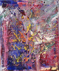 Gerhard Richter,tableau abstrait, 1989,120 cm x 102 cm, huile sur toile, Catalogue Raisonné: 703-5. Tomado de http://www.gerhard-richter.com