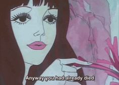 Belladonna of Sadness ~ Kanashimi No Belladonna Belladonna Of Sadness, Old Anime, Anime Art, Junior Year, New Wave, Faeries, Wall Collage, Aesthetic Pictures, Aesthetic Anime