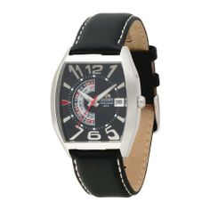 Orient Men's CFNAA006B Day and Date Black Automatic Watch Orient. $88.97. AM/PM Indicator. Genuine leather band. Water-resistant to 165 feet (50 M). Quality Japanese Automatic movement; functions without a battery; powers automatically with the movement of your arm. Mineral crystal