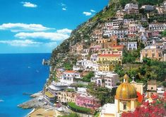 Positano, Italy.  How could anyone not want to visit a place like this?
