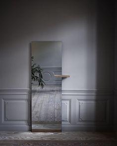 A home is not a showroom. It`s a mirror of you. 'Shift' floor mirror designed by Kaschkasch | Bolia #newscandinaviandesign #scandinaviandesign #newnordic