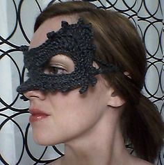 Ravelry: Quick Cat Masquerade Mask pattern by Farrah for 365 Crochet