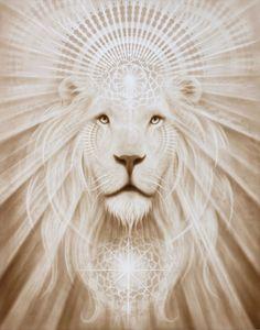 Spirit Lion from A. Andrew Gonzalez Art Shop-- Spirit Lion · Art store A. Andrew Gonzalez · Online store Powered by Storenvy Lions Gate, Lion Of Judah, Lion Art, Lion Tattoo, Visionary Art, Art Plastique, Oeuvre D'art, Native American Art, Cat Art