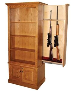 Image result for Hidden Gun Cabinet Plans