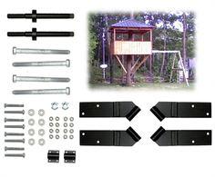 10' Square Treehouse Kit   TAB   Treehouse Bolts & Hardware