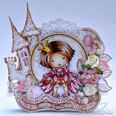 la la land crafts border dies | La-La Land Crafts - SITTING PRINCESS MARCI ♥
