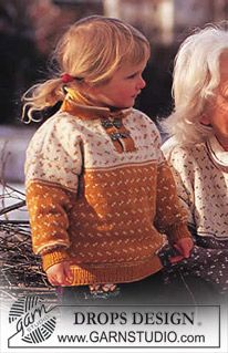DROPS Iceland-inspired child's sweater and socks in Karisma Superwash ~ DROPS Design