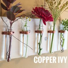Easter and Mother's Day are right around the corner. Our 5 test tube vase makes a great gift for every occasion!