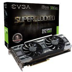 Carte graphique EVGA GeForce GTX 1080 SuperClocked Gaming - 8 Go