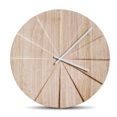 It took 5 years toperfect the design of the SCOPE clock by LEFF AMSTERDAM. The twelve segments of the SCOPEplay with light and shadow as you pass: every angle of the twelve segments of the SCOPE offers a new perspective. MATERIALS Hevea COLOR White or natural DIMENSIONS 38 x 3.1 cm or 15.75 x 1.22 in MOVEMENT Jap Contemporary Clocks, Modern Contemporary, Home Clock, New Perspective, Light And Shadow, 5 Years, Amsterdam, Play, Design