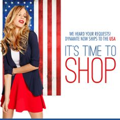 Online shopping is now available in the US!!! Double click and shop now!
