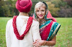 Indian American Weddings, Multicultural Wedding, Interracial Wedding, Traditional Indian Wedding, Dream Wedding, Wedding White, Wedding Fun, Washington Dc Wedding, Wedding Honeymoons