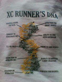 xc runners dna, so true! I thought I was the only one addicted to athletic.net :)