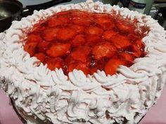 Epres torta Punch Bowls, Desserts, Food, Meal, Deserts, Essen, Hoods, Dessert, Postres
