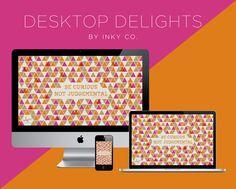 Be Curious desktop background