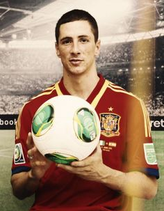 With the ball... Spain national team, Confederations cup, Brazil 2013