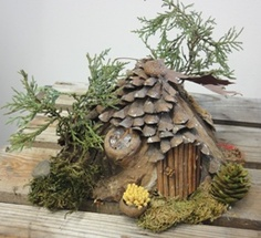 Fairy and gnome houses for the garden...I'd like to make a whole village!