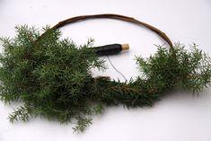 Suvikumpu: HAVUSYDÄN JA -KRANSSI - ohje Diy Wreath, Christmas Wreaths, Herbs, Decor, Crown Flower, Decoration, Wreaths Crafts, Herb, Decorating