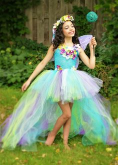 Fairy tutu dress, fairy costume, water fairy dress, teal turquoise purple fairy costume, fairy birthday, fairy festival costume, fairy wings by TheMuseCreations on Etsy https://www.etsy.com/listing/398805233/fairy-tutu-dress-fairy-costume-water