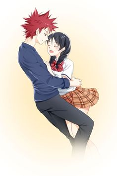 Shokugeki no Soma/Souma aka Food Wars Anime and manga || Soma and Megumi SouMegu~