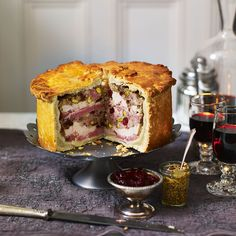 Hot Water Crust Pastry Hand Raised Chicken and Ham Pie Come and see our new website at bakedcomfortfood.com!