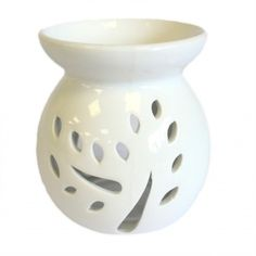 Our range of oil and wax burners covers a huge selection of designs and colours and, whether you are using them as decoration or for infusing your home with fragrance, they are great value for money. As with all our wax and oil burner items, they come with full safety information which we recommend you read before use. This item can be used with oil and water, wax melts or granules. Always use a good quality standard tea light and do not overfill the dish.