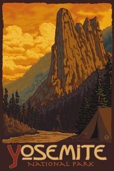 Sentinel Yosemite - Lantern Press