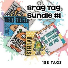 Are you looking for something to spice up your classroom behavior management system? If so, I have the deal for you! Brag tags! They have changed the way my kids behave in my classroom! Seriously! Brag tags can now be used as digital stickers for distance learning!