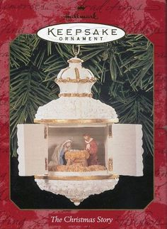 Hallmark Keepsake Ornament The Christmas Story 1999 ** Continue to the product at the image link. (This is an affiliate link) #ChristmasOrnaments