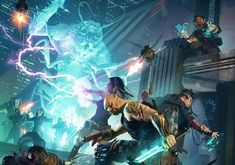 """A classic blend of cyberpunk and traditional fantasy, shadowrun asks what would happen if magic and tolkien-style races """"returned"""" to a future world. Character Design Sketches, Character Art, Science Fiction, Art Cyberpunk, Shadowrun Rpg, Site Art, Sketch Manga, Art Web, Bath And Beyond Coupon"""