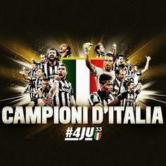 Juventus 2014-2015 Serie A Champions