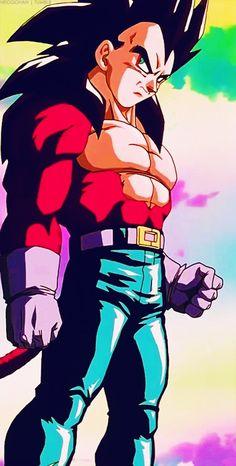 Dragon Ball Z Gogeta super saiyan fusion 4
