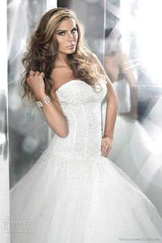 alessandro couture wedding gown