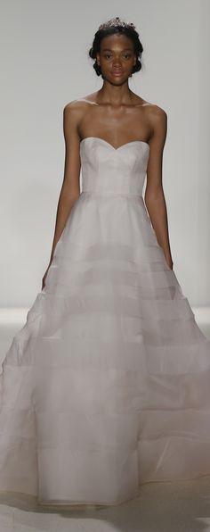 Blush ballgown Wedding Dress by Kelly Faetanini Spring 2018 - JUNO