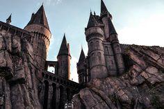 Hogwarts Castle. The Wizarding World of Harry Potter - Islands of Adventure @ Orlando, FL