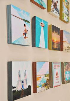 Crear una galería de fotografías para decorar la casa con imágenes de Instagram puede ser una idea interesante, creativa y para tener tus recuerdos en casa.