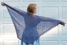 Crochet Diaphanous Shawl in Firefly  free PDF pattern by Kathy North - her patterns are always FAB!