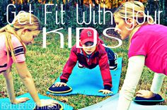 Tips on getting our kids involved in health and fitness. Learn to LOVE HEALTH as a family.  Get your kids to eat health and try these fun workout games to play together.  WE WILL BE HEALTHIER AT THE END OF THIS SUMMER!!!