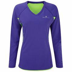 Wiggle | Ronhill Women's Aspiration Long Sleeve Tee - SS14 | Long Sleeve Running Tops