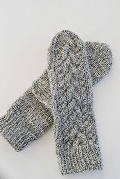 Ravelry: LiloN's Flätstickade vantar- - free knitting pattern